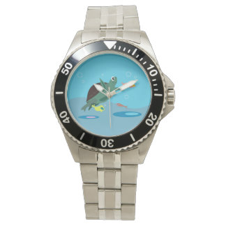 Cute Turtle Watch