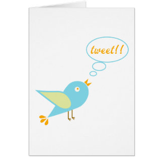 Cute tweet card