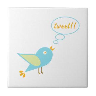Cute tweet tile
