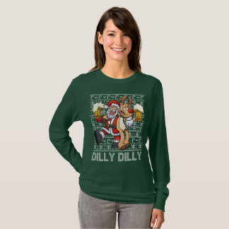 Cute Ugly Christmas Sweater Dilly Dilly