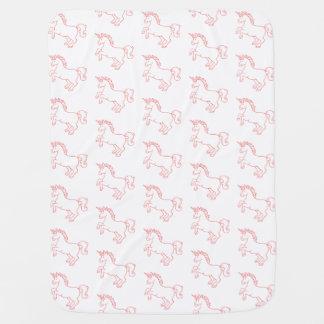 Cute Unicorn Baby Blanket