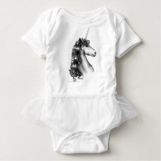cute unicorn baby bodysuit