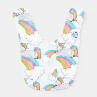 Cute Unicorn Bib