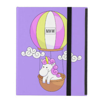 Cute Unicorn custom monogram device cases