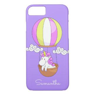 Cute Unicorn custom name phone cases
