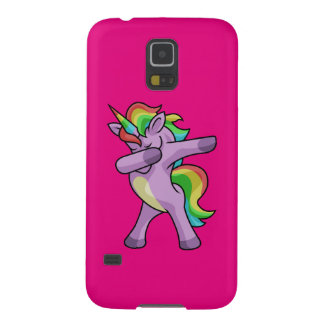 Cute Unicorn Dabber Dance Galaxy S5 Cases
