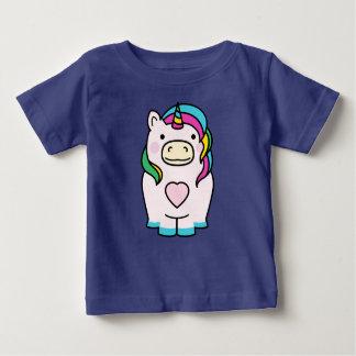 Cute Unicorn Design Baby T-Shirt