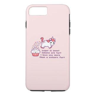 Cute Unicorn Fart iPhone 7 Plus Case