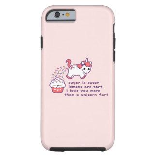 Cute Unicorn Fart Tough iPhone 6 Case