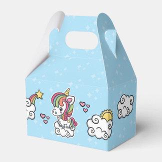 Cute Unicorn favor boxes