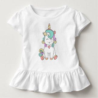 Cute Unicorn Magical Illustration Toddler Shirt