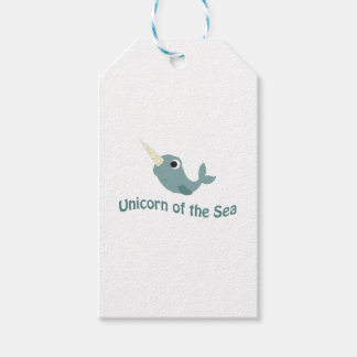 Cute Unicorn Of the Sea Pack Of Gift Tags