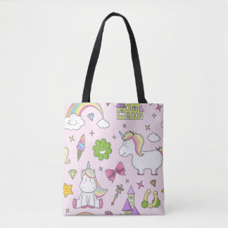 Cute unicorn pattern bag