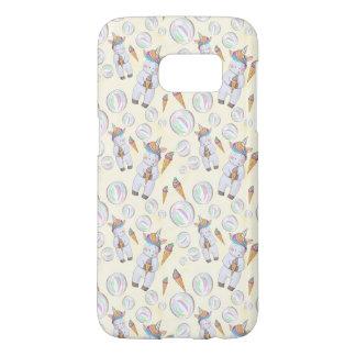 Cute Unicorn Pattern Samsung Galaxy S7 Case