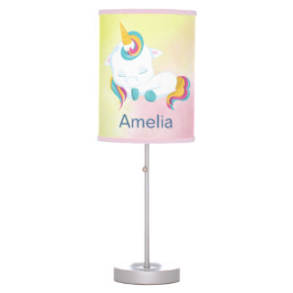 Cute Unicorn Sweet Sleep Table Lamp