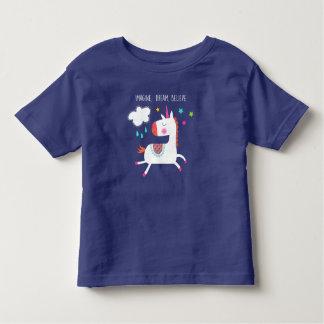 Cute unicorn toddler t-shirt
