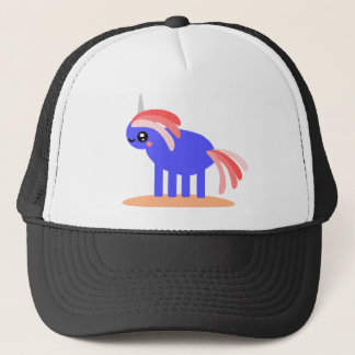Cute Unicorn Trucker Hat