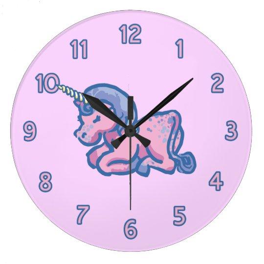 Cute Unicorn Wall Clock