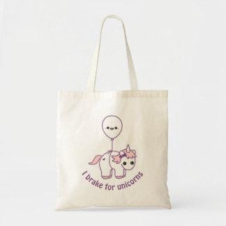 Cute Unicorn with Balloon Tote Bag