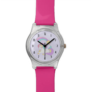 Cute Unicorn with Colorful Shooting Star Watch