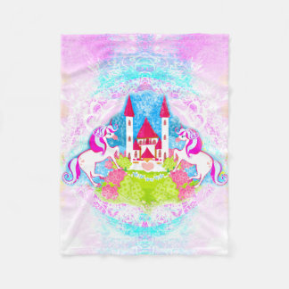 cute unicorns Fleece Blanket