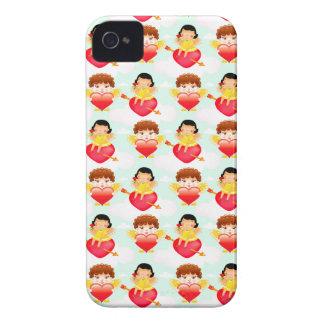 Cute Valentine Cupids Case-Mate iPhone 4 Cases