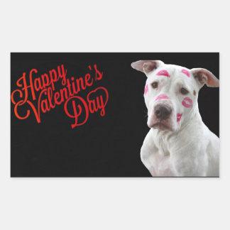 Cute Valentine Dog Sticker