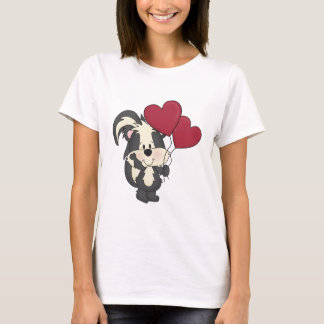 Cute Valentine Skunk t-shirt