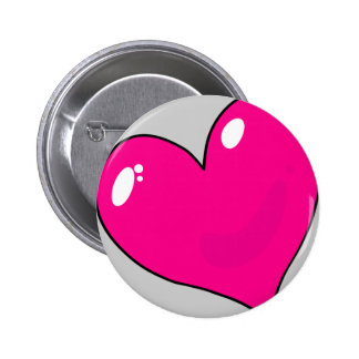 Cute Valentines 2 Inch Round Button