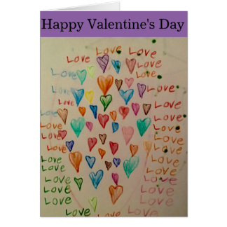 Cute Valentine's card for everyone.