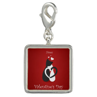 Cute Valentine's Day Cats Love Charms