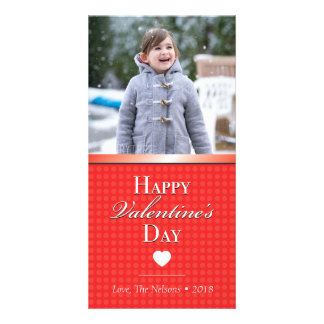 Cute Valentine's Day Photo Card