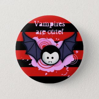 Cute Vampire Button