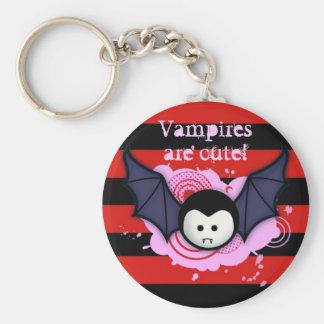 Cute Vampire Keychain