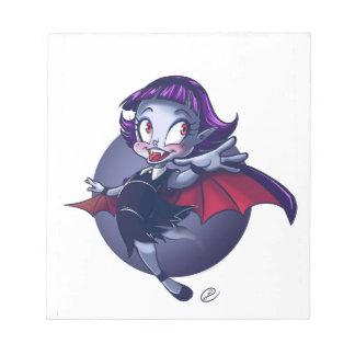Cute Vampire Notepad