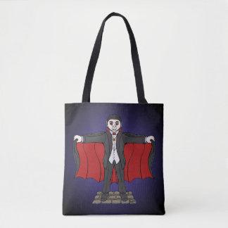Cute Vampire Tote Bag