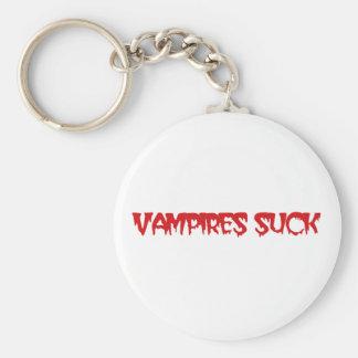 Cute Vampires Suck Keychain