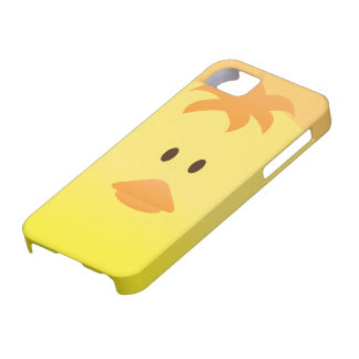 Cute Vector Art of Baby Chicken iPhone 5 Cover