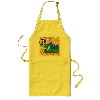 Cute Vegetarian Cook's Apron