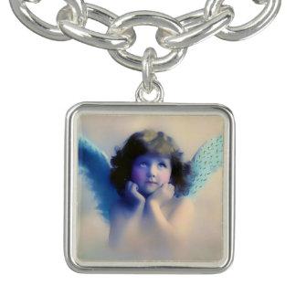Cute Vintage Angel Charm Bracelet