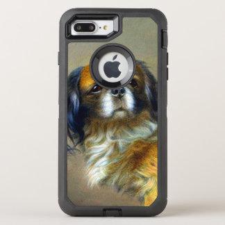 Cute Vintage Dog OtterBox Defender iPhone 8 Plus/7 Plus Case