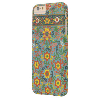 Cute Vintage Floral Pattern Barely There iPhone 6 Plus Case