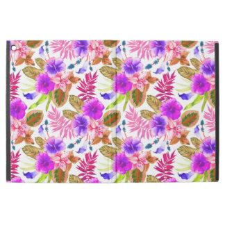 """Cute vintage floral patterns iPad pro 12.9"""" case"""