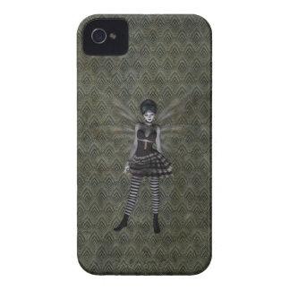 Cute Vintage Gothic Fairy iPhone 4 Case-Mate Case