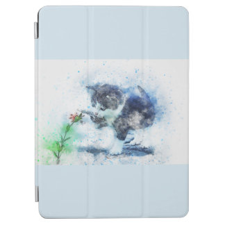 Cute Vintage Kitty iPad Air Cover