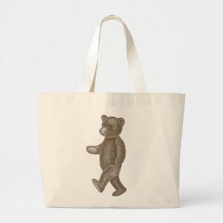 Cute Vintage Marching Teddy Bears Tote