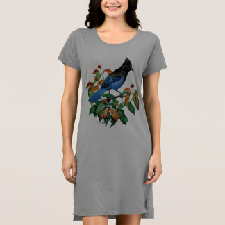 Cute Vintage Stellers Jay bird womens dress