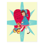 Cute Vintage Valentines Day card Post Cards