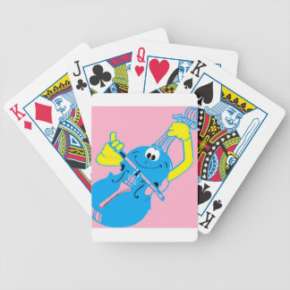 cute_violin_love bicycle playing cards