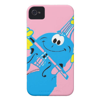 cute_violin_love iPhone 4 cover